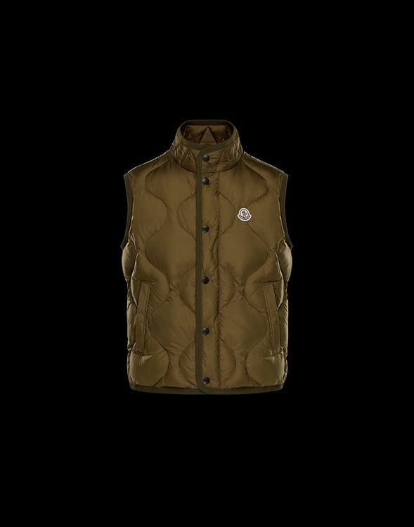 MONCLER CANUT MEN VEST Brown