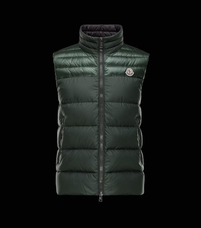 MONCLER DUPRES MEN GILET Green