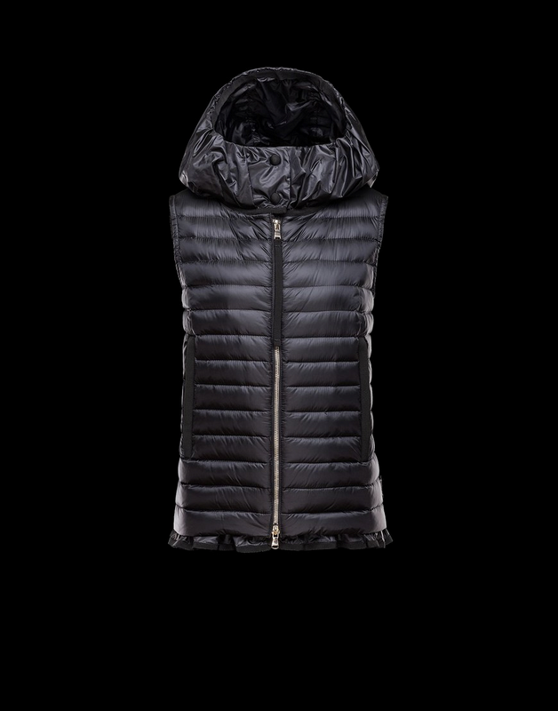 MONCLER EBLE Women Vest Wine Red