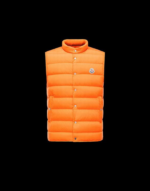 MONCLER FEBE MEN VEST Orange