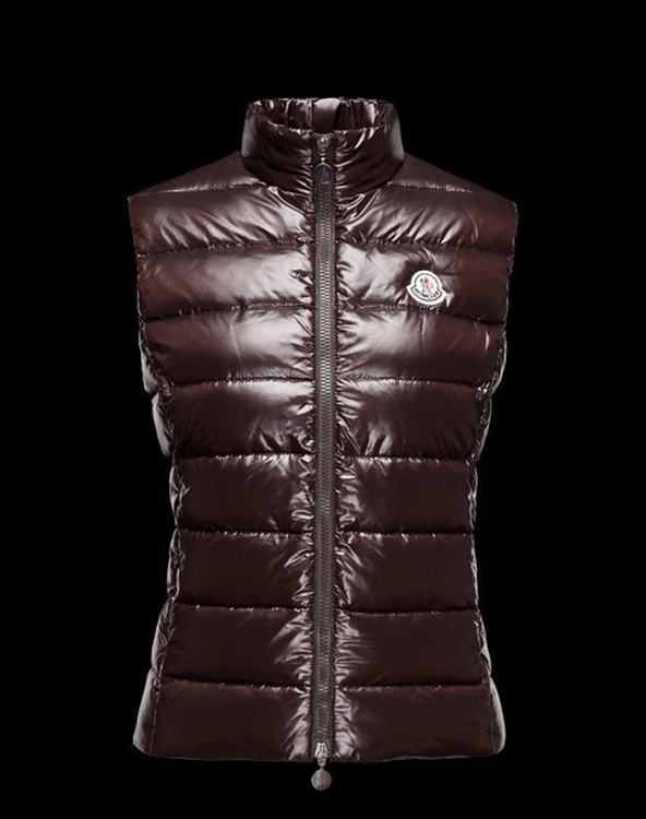 MONCLER GHANY Women Vest Brown