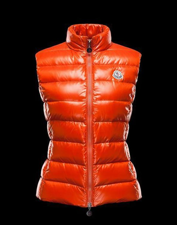 MONCLER GHANY Women Vest Orange