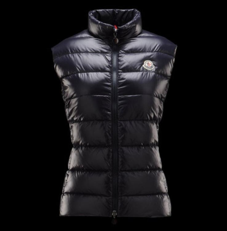 MONCLER GHANY Women Vest Purple