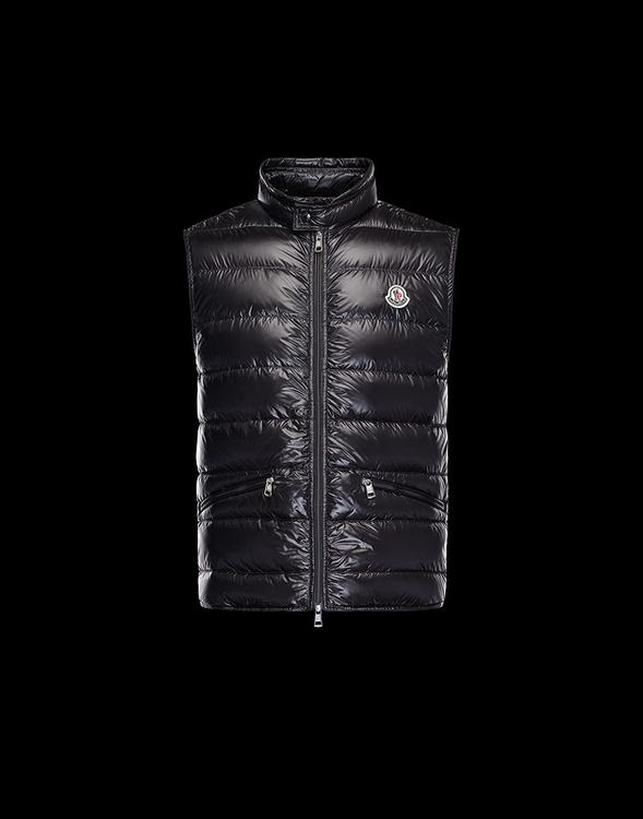 MONCLER GUI Men VEST Black