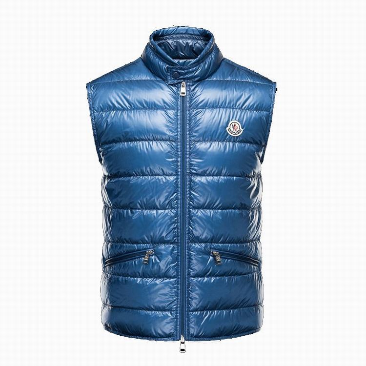 MONCLER GUI Men VEST Navy