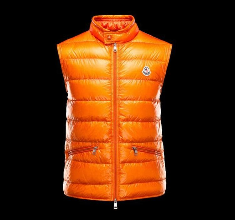 MONCLER GUI Men VEST Orange
