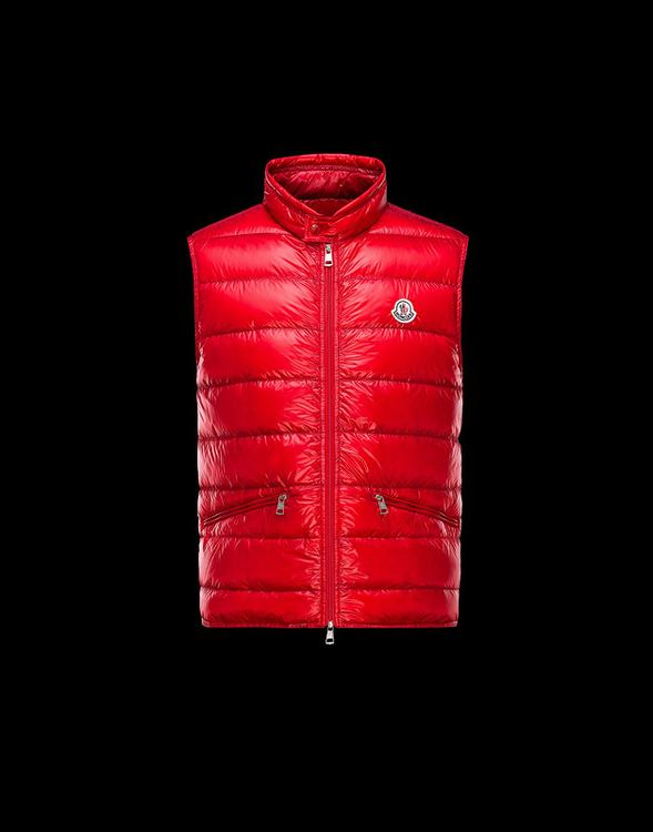 MONCLER GUI Men VEST Red