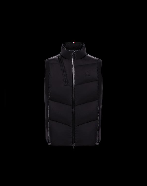 MONCLER JACOT Men Vest Black