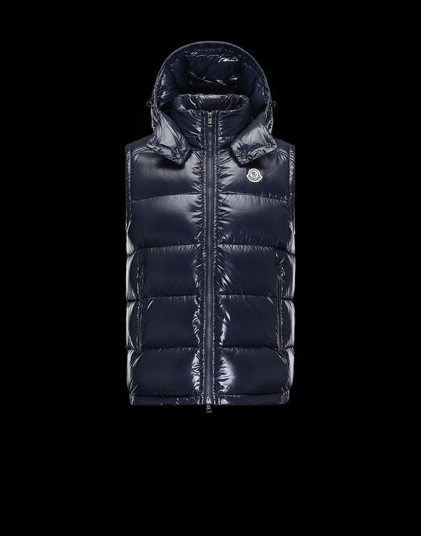 MONCLER LACET Men Vest Blue