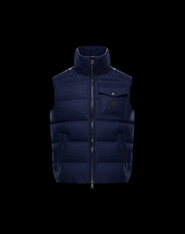 MONCLER LALAY Men Gilet Blue