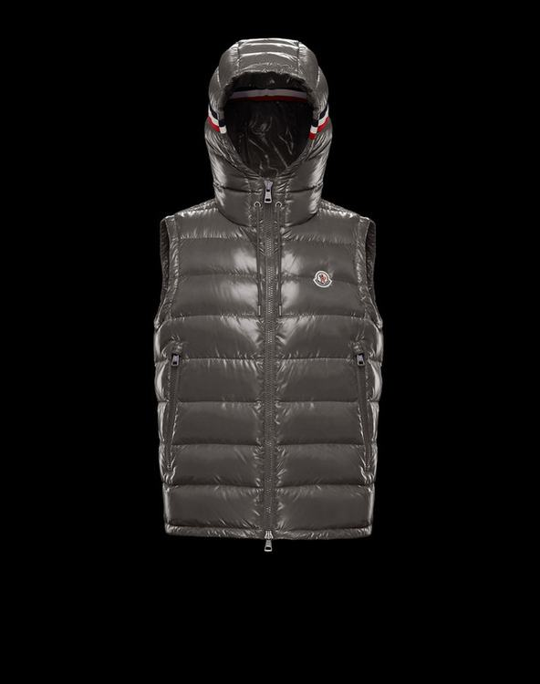 MONCLER LANOUX Men Vest Gray