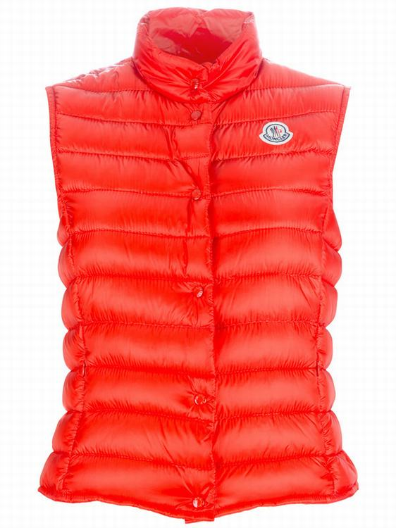 MONCLER LIANE Women Vest Orange