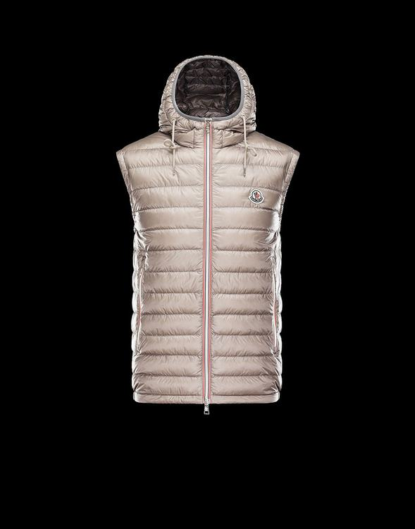 MONCLER NAPLES Men Vest Beige