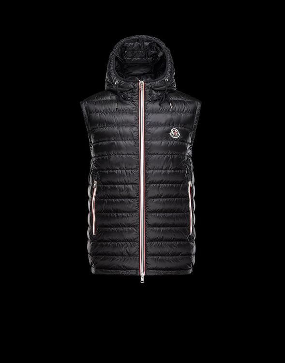 MONCLER NAPLES Men Vest Black