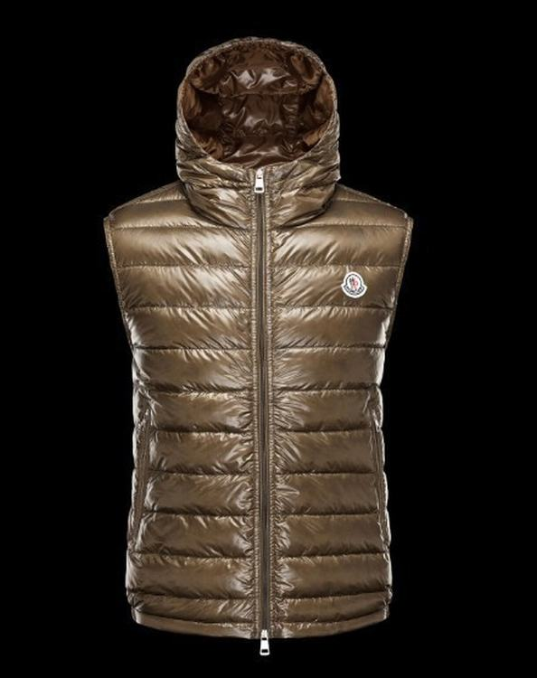 MONCLER PATRICK Men VEST Brown
