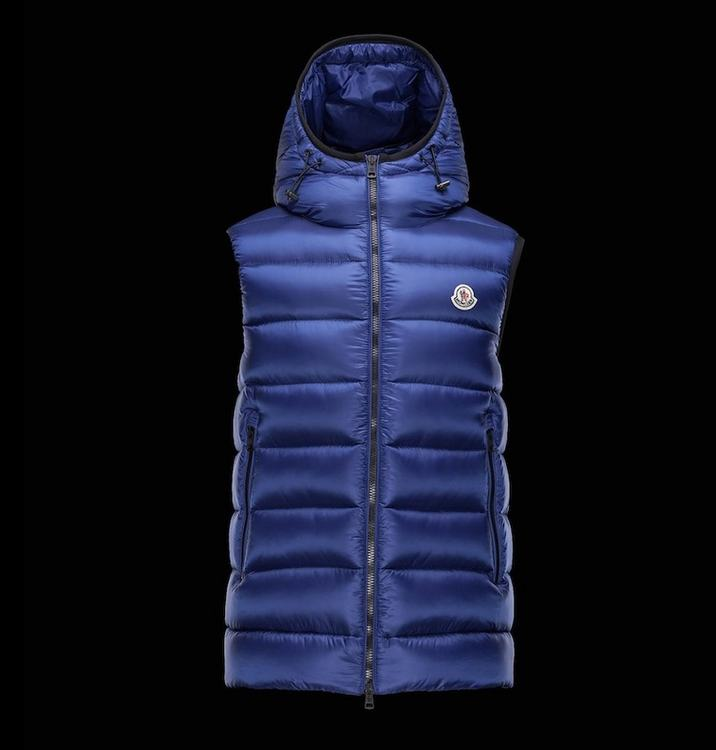MONCLER RAY Men GILET Blue