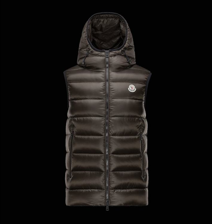 MONCLER RAY Men GILET Brown