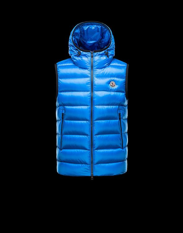 MONCLER RAY Men GILET Navy
