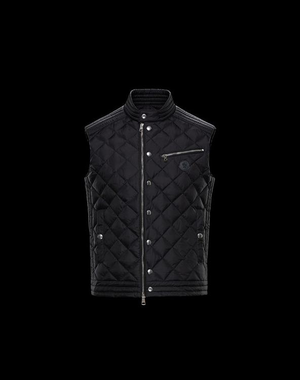 MONCLER ROY Men Vest Black