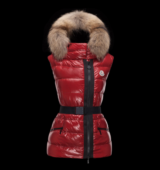 MONCLER RUE Women GILET Red