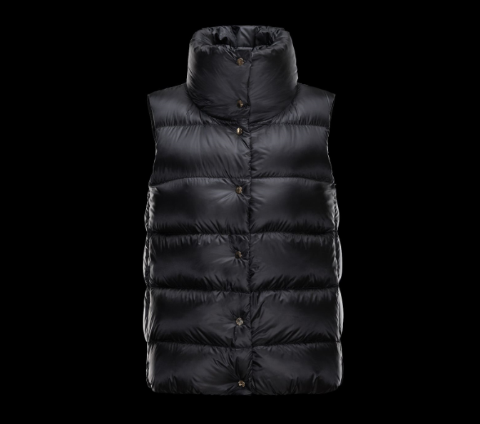 MONCLER SOURCES Woemn GILET Black