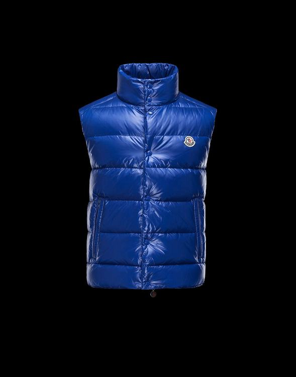 MONCLER TIB Men Vest Blue