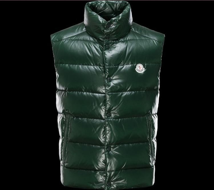 MONCLER TIB Men Vest Green