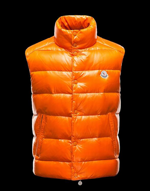 MONCLER TIB Men Vest Orange