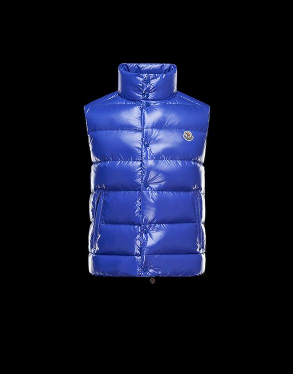 MONCLER TIB Men Vest Royalblue