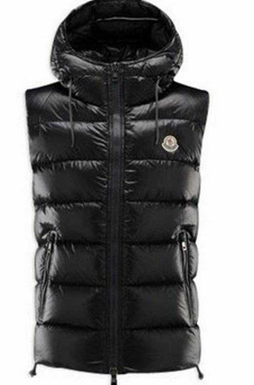 Moncler Batholome Men Vest Black