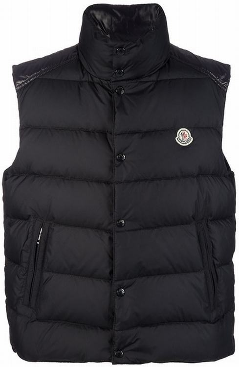 Moncler Chevalier Men Gilet Black