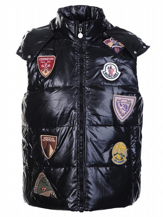 Moncler Limited Edition Men Vest Black