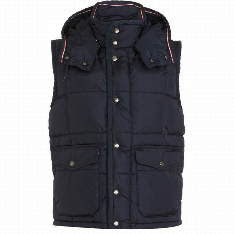 Moncler Tapajos Men Vest Black