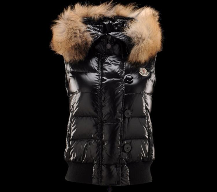 Moncler Tarn Men Women Vest Black