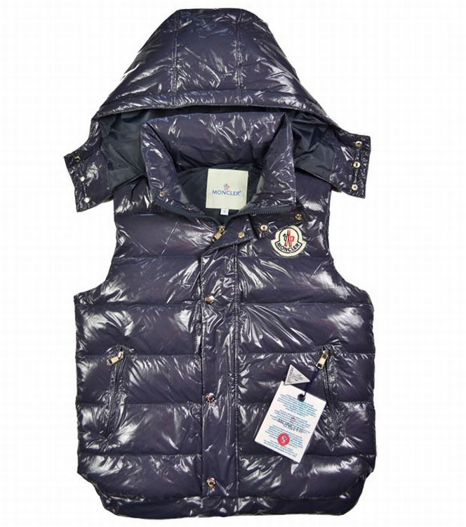 Moncler V40 Women Vest Purple