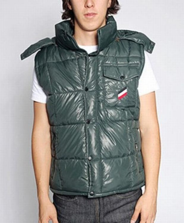 Moncler Verdon Men Vest Green