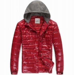 Moncler Alibert Men Jacket Red