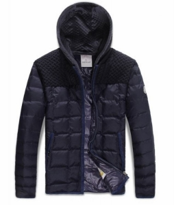 Moncler Cedric Men Jacket Dark Purple