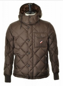 Moncler Raymond Men Jacket Dark Brown