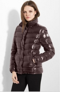 Moncler Clairy Women Classic Jacket Brown