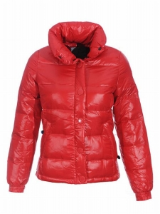 Moncler Clairy Women Classic Jacket Red