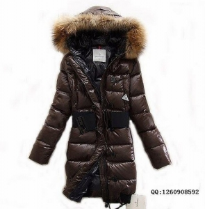Moncler Lucie Women Jacket Brown