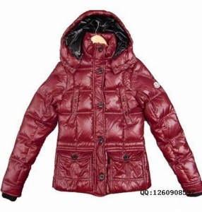 Moncler Trianon Women Jacket Red