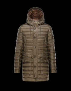 Moncler Benjamin Men Jacket Khaki