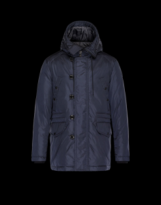 Moncler Dirk Men Jacket Blue
