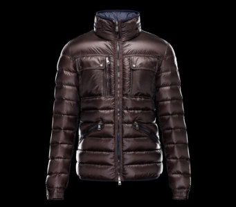 Moncler Norbert Men Jacket Wine Red