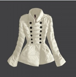 Moncler 17 Women Jacket White