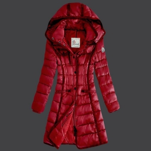 Moncler Grenoble 18 Women Jacket Red