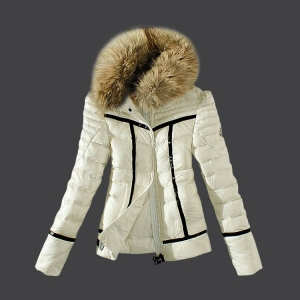 Moncler Haevy Women Jacket White