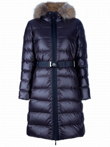 Moncler Nantesfur 01 Women Jacket Blue